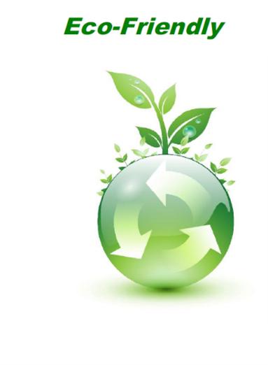 Ecofriendly earth plant