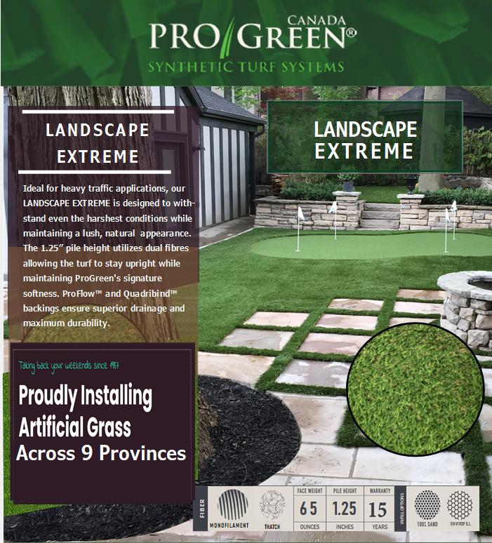Landscape Extreme ProGreen website image