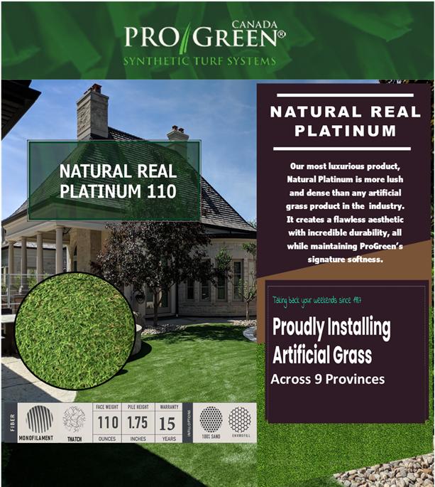 Natural Real Platinum ProGreen website image