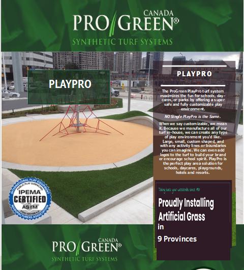 Playpro ProGreen website image 2021